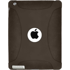 Amzer Silicone Skin Jelly Case - Grey For The new iPad - iPad - Gray - Silicone