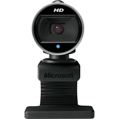 Microsoft LifeCam Webcam - USB 2.0 - 5 Megapixel Interpolated - 1280 x 720 Video - CMOS Sensor - Auto-focus - Widescreen - Microphone