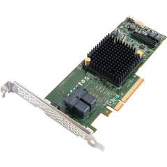 Adaptec 7805 8-Ports SAS/SATA RAID Controller - Serial Attached SCSI (SAS) - PCI Express 3.0 x8 - Plug-in Card - RAID Supported - 0, 1, 1E, 5, 6, 10, 50, 60 RAI