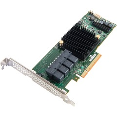 Adaptec 71605 16-Ports SAS/SATA RAID Controller - Serial Attached SCSI (SAS) - PCI Express 3.0 x8 - Plug-in Card - RAID Supported - 0, 1, 1E, 5, 6, 10, 50, 60 R