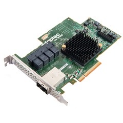 Adaptec 71685 24-Ports SAS/SATA RAID Controller - Serial Attached SCSI (SAS) - PCI Express 3.0 x8 - Plug-in Card - RAID Supported - 0, 1, 1E, 5, 6, 10, 50, 60 R