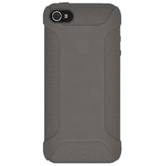 Amzer Silicone Skin Jelly Case - Grey For iPhone 5 - iPhone - Gray - Silicone