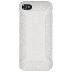 Amzer Silicone Skin Jelly Case - Transparent White For iPhone 5 - iPhone - Transparent White - Silicone