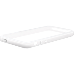 Macally Protective Frame Case (White Color) - iPhone - White - Two-tone - Polycarbonate
