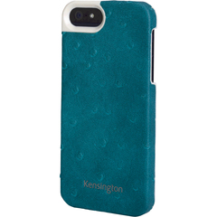 Kensington Vesto Leather Texture Case for iPhone 5 - Teal - iPhone - Teal Blue