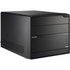 Shuttle XPC SX79R5 Barebone System Mini PC - Intel X79 Express Chipset - Socket R LGA-2011 - 1 x Total Processor Support (Core i7, Core i7 Extreme Edition) - Bl