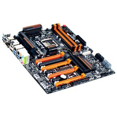 Gigabyte Ultra Durable 5 GA-Z77X-UP7 Desktop Motherboard - Intel Z77 Express Chipset - Socket H2 LGA-1155 - Extended ATX - 1 x Processor Support - 32 GB DDR3 SD