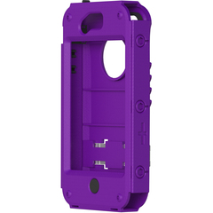 Trident Carrying Case (Holster) for iPhone - Purple - Polycarbonate, Plastic