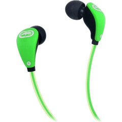 Ecko Unltd. Glow Earbud - Stereo - Green - Wired - 16 Ohm - 20 Hz - 20 kHz - Earbud - Binaural - In-ear - 3.94 ft Cable