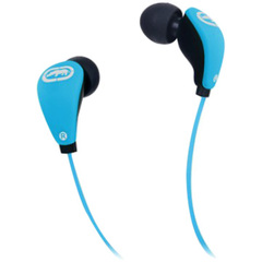 Ecko Unltd. Glow Earbud - Stereo - Blue - Wired - 16 Ohm - 20 Hz - 20 kHz - Earbud - Binaural - In-ear - 3.94 ft Cable