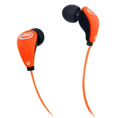 Ecko Unltd. Glow Earbud - Stereo - Orange - Wired - 16 Ohm - 20 Hz - 20 kHz - Earbud - Binaural - In-ear - 3.94 ft Cable
