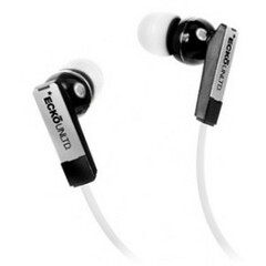 Ecko Unltd. STEALTH Earbud - Stereo - White - Mini-phone - Wired - 16 Ohm - 20 Hz - 20 kHz - Earbud - Binaural - In-ear - 3.94 ft Cable