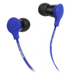 Ecko Unltd. TREK Earbud - Stereo - Blue - Mini-phone - Wired - 16 Ohm - 20 Hz - 20 kHz - Earbud - Binaural - In-ear - 3.94 ft Cable
