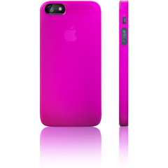 Luardi Velvet Crystal Case - iPhone - Purple - Crystal - Matte - Velvet, Plastic