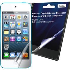 Green Onions Supply Crystal Screen Protector for iPod touch, 5th Generation (2-Pack) - iPod