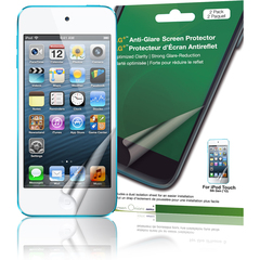 Green Onions Supply AG+ Anti-Glare Screen Protector for iPod touch, 5th Generation (2-Pack) - iPod