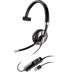 Plantronics Blackwire C710-M Headset - Mono - USB - Wired/Wireless - Bluetooth - 20 Hz - 20 kHz - Over-the-head - Monaural - Semi-open - Noise Cancelling Microp