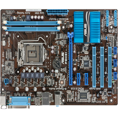 Asus P8H61-M LX3 R2.0 Desktop Motherboard - Intel H61(B3) Express Chipset - Socket H2 LGA-1155 - Micro ATX - 1 x Processor Support - 16 GB DDR3 SDRAM Maximum RA