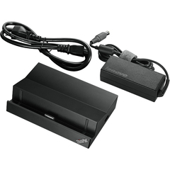 Lenovo ThinkPad Tablet 2 Dock (US) - for Tablet PC - Proprietary Interface - 3 x USB Ports - Network (RJ-45) - HDMI
