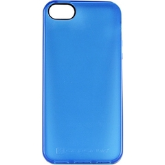 Scosche glosSEE - Flexible Rubber Case for iPhone 5 (Blue) - iPhone - Blue - Translucent, Glossy - Rubber