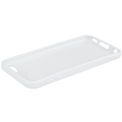 Macally Flexible Protective Case (White color) - iPod - White - Thermoplastic Polyurethane (TPU)
