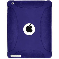 Amzer Silicone Skin Jelly Case - Blue For Apple iPad 2 - iPad - Blue - Silicone