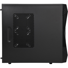 Rosewill Challenger-U3 ATX Mid Tower Computer Case - Mid-tower - Black - Steel - 10 x Bay - 3 x Fan