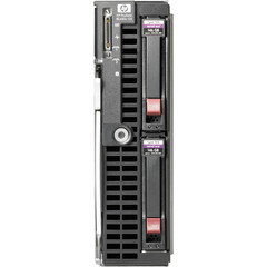 HP-IMSourcing ProLiant 507782-B21 Blade Server - 1 x Intel Xeon E5520 2.26 GHz - 2 Processor Support - 6 GB Standard/96 GB Maximum RAM - Serial Attached SCSI (S