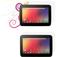 rOOCASE 4-Pack Screen Protectors for Google Nexus 10 - Tablet PC