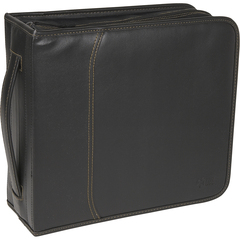 Case Logic 320 CD Wallet - Slide Insert - Koskin - Black - 320 CD/DVD