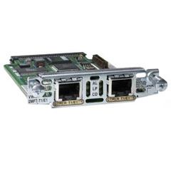 Cisco Second-Generation 1-Port T1/E1 Multiflex Trunk Voice/WAN Interface Card - 1 x T1/E1 WAN - Voice/WAN Interface Card