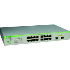 Allied Telesis AT-GS950/16 16 Port Gigabit WebSmart Switch - 16 x 10/100/1000Base-T LAN