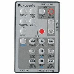 Panasonic Remote Control - Camcorder - Camera Remote