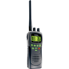 Uniden - ATLANTIS250 Hand-Held Marine Radio - VHF - 10 Weather / 16/9/Tri Instant - 5W