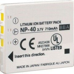 NABC Lithium Ion Digital Camera Battery - Lithium Ion (Li-Ion) - 3.7V DC