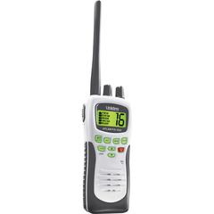 Uniden - ATLANTIS 250 Hand-Held Marine Radio - VHF - 10 Weather / 16/9/Tri Instant