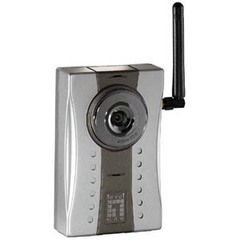 CP TECH LevelOne WCS-2030 11g Wireless IP Network Camera - Color - CMOS - Wireless Wi-Fi, Cable