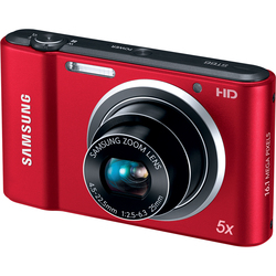 Samsung ST66 16MP Red Digital Camera