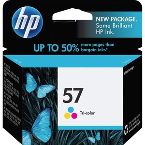 HP 57 Ink Cartridge - Cyan, Magenta, Yellow HEWC6657AN