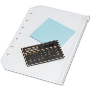 Day-Timer See-Though Zipper Pouch DTM87219