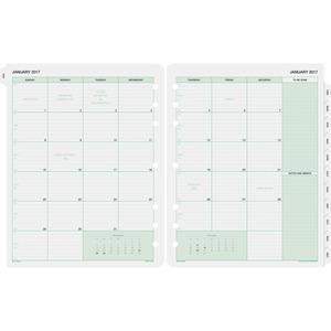 Day-Timer Monthly Calendar Refill DTM87329