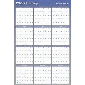 At-A-Glance Reversible Two-Sided Planner AAGA1102