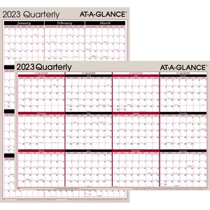 At-A-Glance Classic Series Quarterly Organizer AAGA123