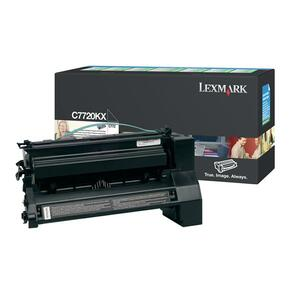 Lexmark Toner Cartridge - Black LEXC7720KX
