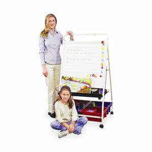Balt Teacher's Learning Center Magnetic/Dry Erase Board BLT33453