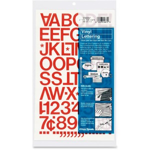 Chartpak Vinyl Letters and Numbers CHA01032