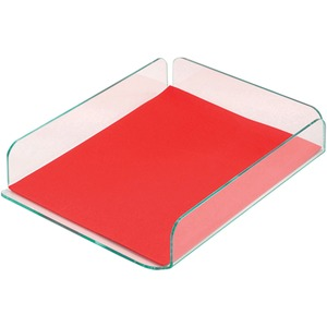 Deflect-o Glasstique Letter Size Desk Tray DEF41090