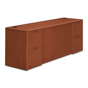 HON 10700 Series Credenza with Doors & File Pedestals HON10742JJ