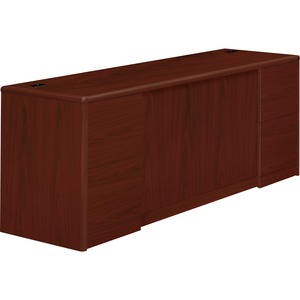 HON 10700 Series Credenza with Doors & File Pedestals HON10742NN