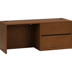 HON 10700 Series Left Pedestal Credenza with Lateral File HON10748LJJ